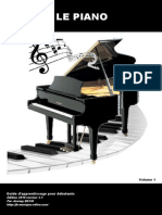 LE PIANO Guide Dapprentissage Vol1