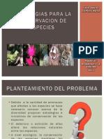 Estrategias Para La Conservacion de Especies