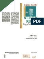 Luigi de Marchi - Wilhelm Reich, Biografía de una idea