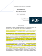 Ideas Fundamentales de Los Partidos Políticos de La Nueva Granada