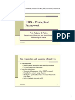 3) IFRS Conceptual Framework