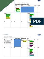 Calendario de Pruebas 2014 (1)
