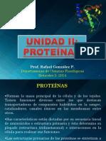 TEMA 2. Proteínas. 1era Parte. Aa, Enlace Peptidico.