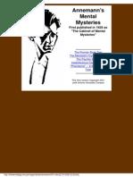 Annemann - Mental Mysteries (1)