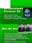 Re-Envisioning Division 29