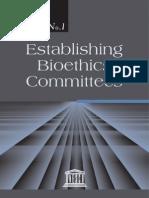 Establishing Bioethics Committees