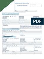 Formulario de Afiliacion Pensiones