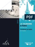 Le Tourisme à Paris Chiffres Clés 2012