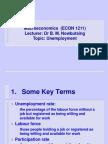 Unemployment - Topic 7