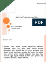 Bab 10 Metode Pengumpulan Data (Reza Erfiandes)