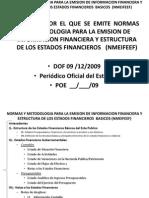 09 Normas y Metodologia Para La Emision de La Informacion Financiera