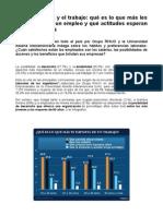 Los Argentinos y El Trabajo