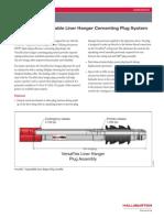 VersaFlex ELH Cementing Plug System_H06448
