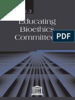 Educating Bioethics Committees