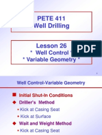 Oil Well Control