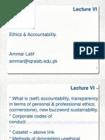 06 HMT423 Lecture VI Ammar Latif