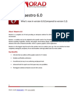 Maestro 6 - What's NewApril2011
