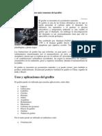 Los Usos y Aplicaciones Más Comunes Del Grafito (1)