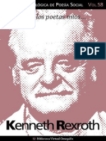 Cuaderno de Poesia Critica n 58 Kenneth Rexroth