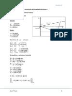 Resolucion Del Examen de Geodesia II