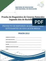 Prueba Diagnostico Ciencias Naturales Segundo Bachillerato