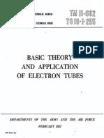 Army Vacuum tube theory