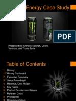 monster energy case study final