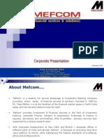 Mefcom+Corporate+Presentation