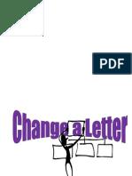 Change a Letter