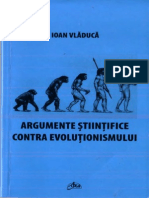 Argumente Stiintifice Contra Evolutionismului