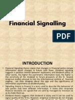 Financial Signaling By Kiran Kumari