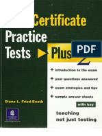 Fce Practice Test Plus 2 With Tipsss