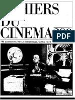 Cahiers Du Cinema 298