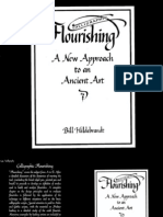 Calligraphic Flourishing - Bill Hildebrandt