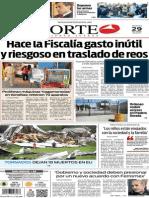Periódico Norte de Ciudad Juárez edición impresa del 29 abril del 2014