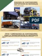Tipos y Dimensiones de Contenedores TERRESTRES y FERROVIARIOS - EC