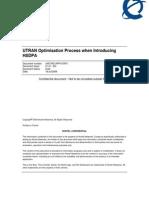 UTRAN Optimisation Process When Introducing HSDPA v01%2E01