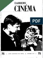Cahiers Du Cinema 075