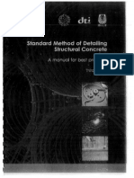 Standard Method of Detailing Structural Concrete