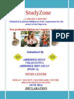 Ashwani Katiyar(Estudyzone Documentation)