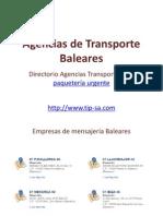 Agencias de Transporte Baleares