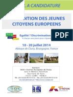 Convention Des Jeunes Citoyens Europeens 2014