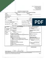 credential evaluation status-sanchez