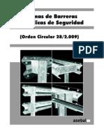 Catalogo Barreras Seguridad Asebal