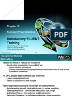 Fluent12 Lecture10 Transient
