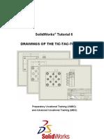 Solidworks Tutorial 6 Voor Lager en Middelbaar Technisch Onderwijs 2008 English Tws