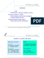 Wireless vs. Mobile Contents