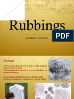 Texture Rubbings