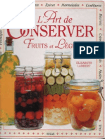 L'Art de Conserver Fruits Et Légumes