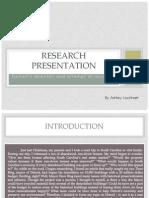 Research Presentation Engl 1102